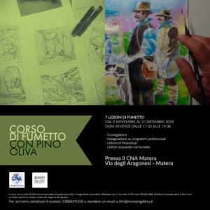 Corso di fumetto con Pino Oliva